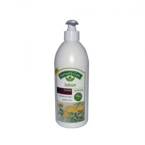 Natures gate, lotion moistzr herbal, 18 oz  Moisturizing Lotion-Herbal by Nature's Gate 18 oz Lotion Moisturizing Lotion-Herbal 18 oz Lotion Product #Natures #Gate #Herbal #Lotion provides instant moisture leaving skin feeling pampered and smooth. A unique blend of natural emollients and soothing botanicals are combined with 7 skin #conditioning #moisturizers to bring comfort and nourishment to dry skin. This lotion is ideal for everyday use to help maintain supple #silky-soft skin.