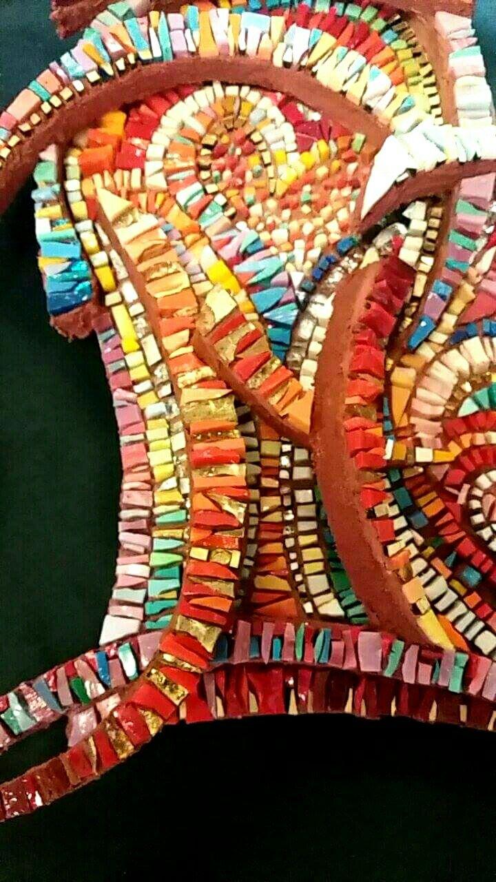 SOLO PER TE  ...cuore (dettaglio)  #mosaic _menossi #mosaicodinamico