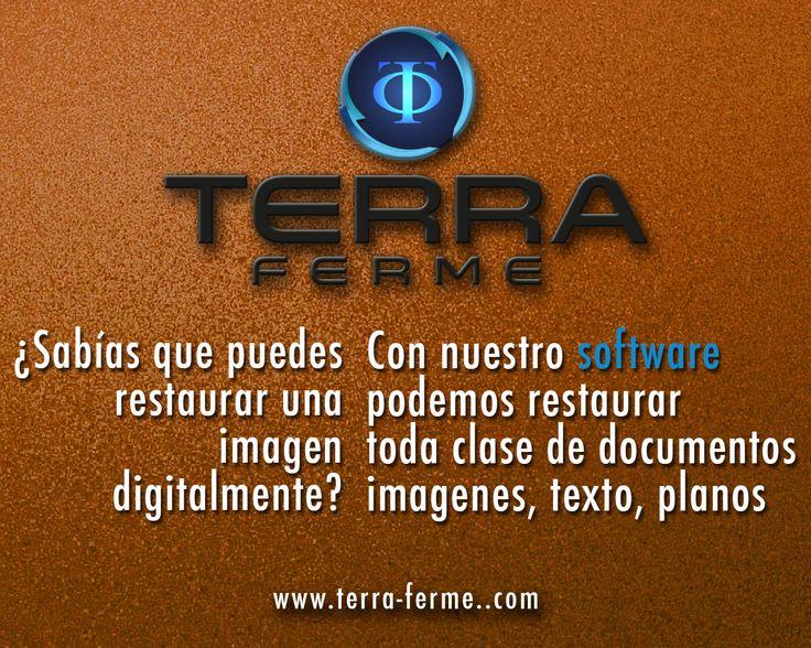 Terra Ferme  Una empresa líder en Digitalización Solicita nuestros servicios Yo soy #TerraFerme www.terra-ferme.com