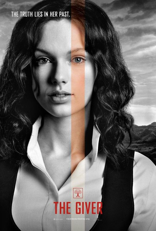 The Giver Movie Poster. Taylor Swift is in the giver. How awesome is that!