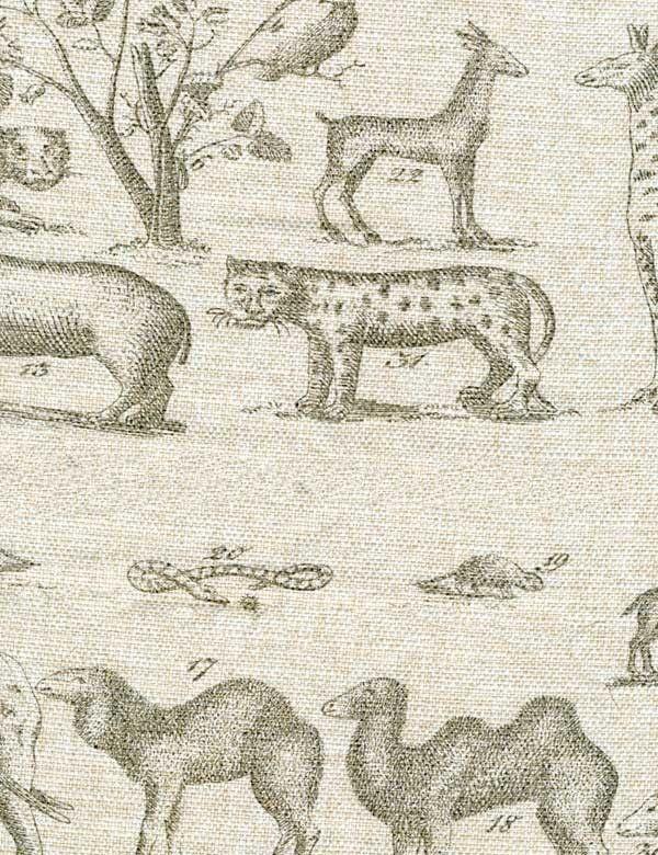 Jungle Linen Fabric