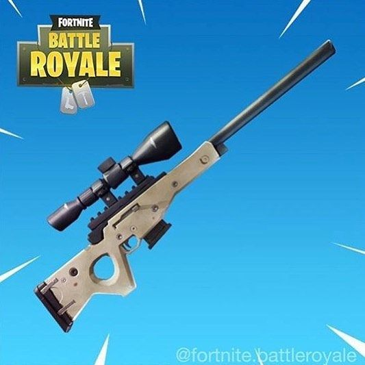 Bolt Action Sniper Fortnite Pinterest Games Battle And Weapons