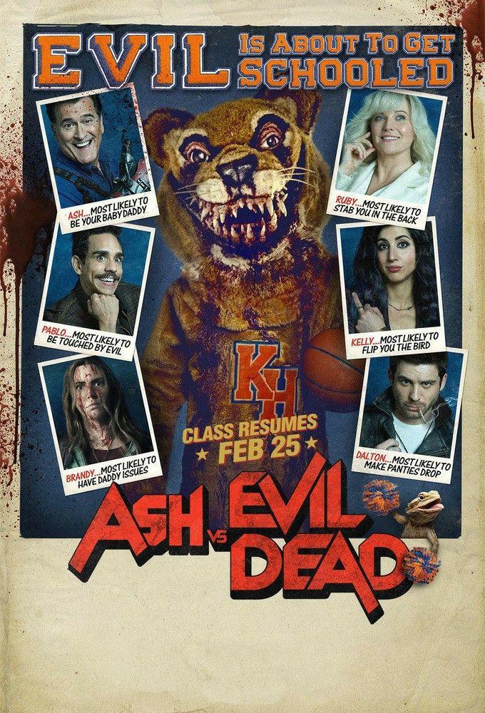 Ash Vs Evil Dead Cine De Terror Ash Williams Cine Fantastico