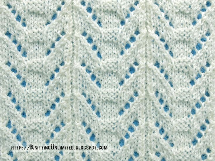 Lace Stitches for Spring 2016 - Pattern 6/10