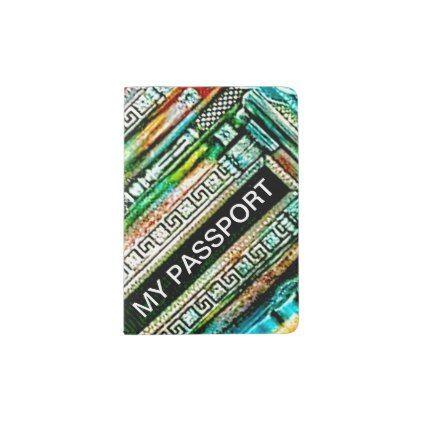MY PASSPORT - DECORATIVE - PASSPORT HOLDER - fun gifts funny diy customize personal