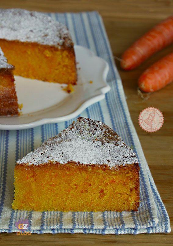 TORTA VENEZIANA ricetta torta carote senza farina e burro