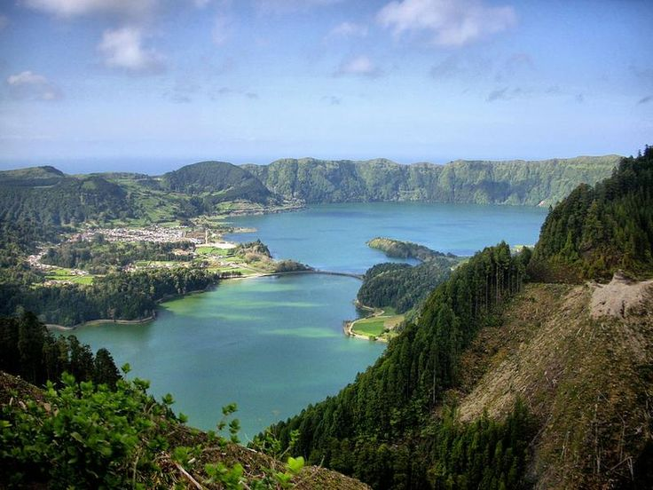 Visit the Azores Islands in Portugal and see where Papa's family is from (maybe even meet the relatives still living there!)