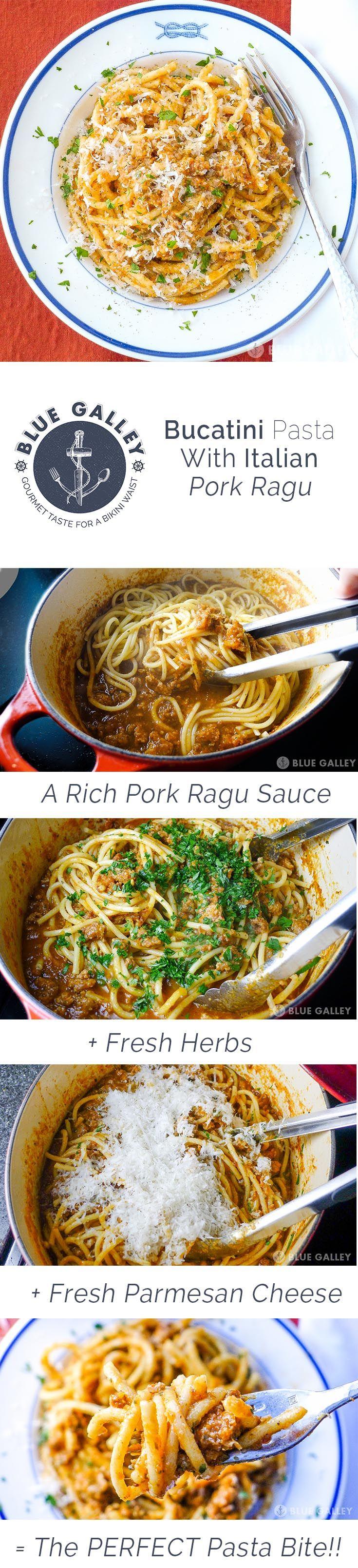 Blue apron bucatini - Blue Galley Bucatini Pasta With Pork Ragu