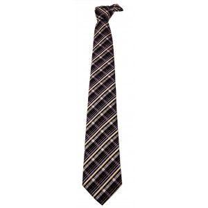 Cravatta Regimental in lana e seta Brucle