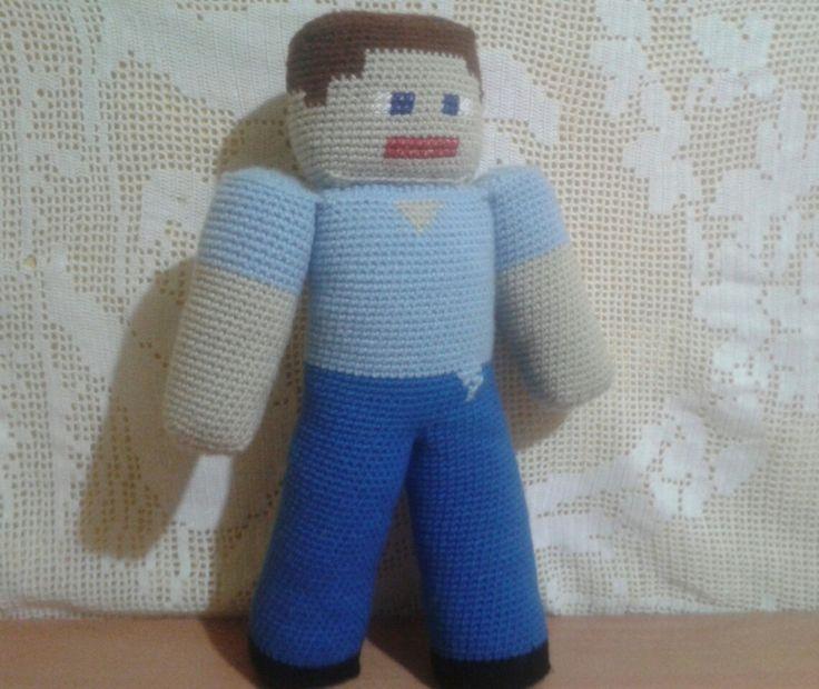 Minecraft, Steve 40 cm aprox de amor, Chile