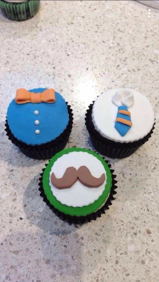 Cupcakes for the men