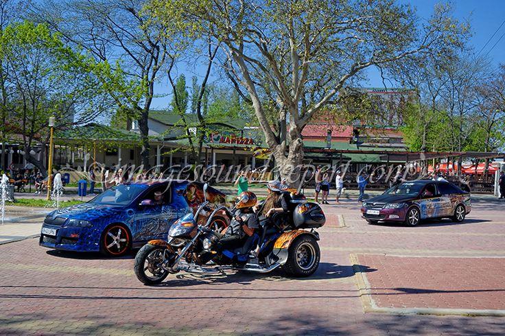 Motorcycles and cars (opening summer season Mamaia) / Motorräder und Autos (Eröffnung Sommer Mamaia) / Motos et voitures (ouverture saison estivale Mamaia) / Motociclete si autoturisme (Deschiderea sezonului estival Mamaia)