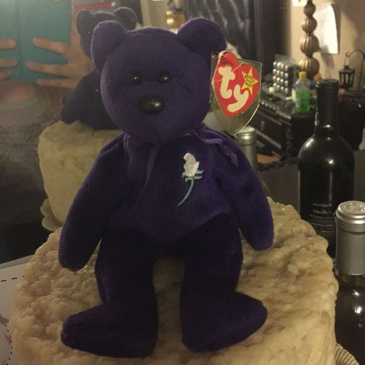 *Auth. Princess Diana Beanie Baby MWMT Same One Sold For $8,500 Im Asking $2,000 #Ty