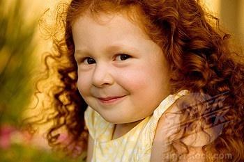 Annie Curly redhead