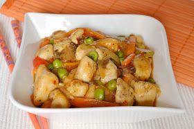 Citromhab: Szecsuáni csirke
