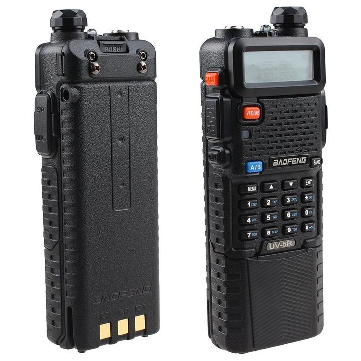 BestFaceå¨ BAOFENG Dual Band UV5R Handheld Two Way Radio UHF/VHF 136-174/400-480Mhz 128 Channels FM Ham walkie talkie Transceiver   Upgrade Version 3800mah Battery   Free Earpiece, Built-in VOX Function (Black) >>> Want additional info? Click on the image.