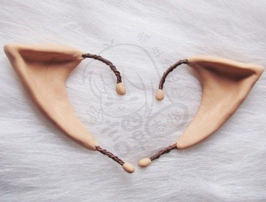 elf ears - awesome - going to definitely try this!