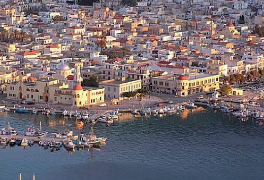 GREECE CHANNEL   Harbour of #Kalymnos #Island #Greece