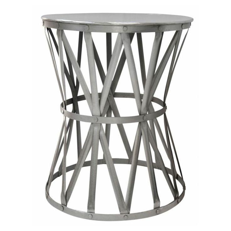 Drum Table Nickel Medium
