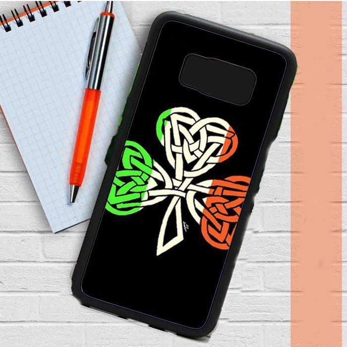 Irish Flag Celtic Shamrock Samsung Galaxy S8 Plus Case Dewantary