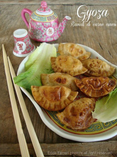 Ogni riccio un pasticcio - Blog di cucina: Gyoza: i ravioli di carne cinesi!