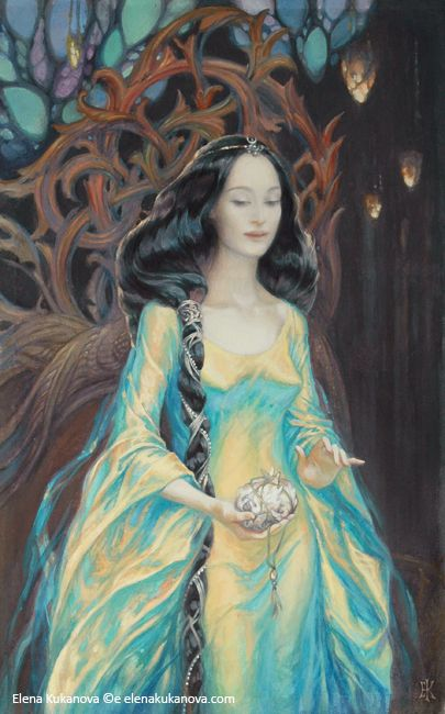 The Light of Valinor by ekukanova on DeviantArt