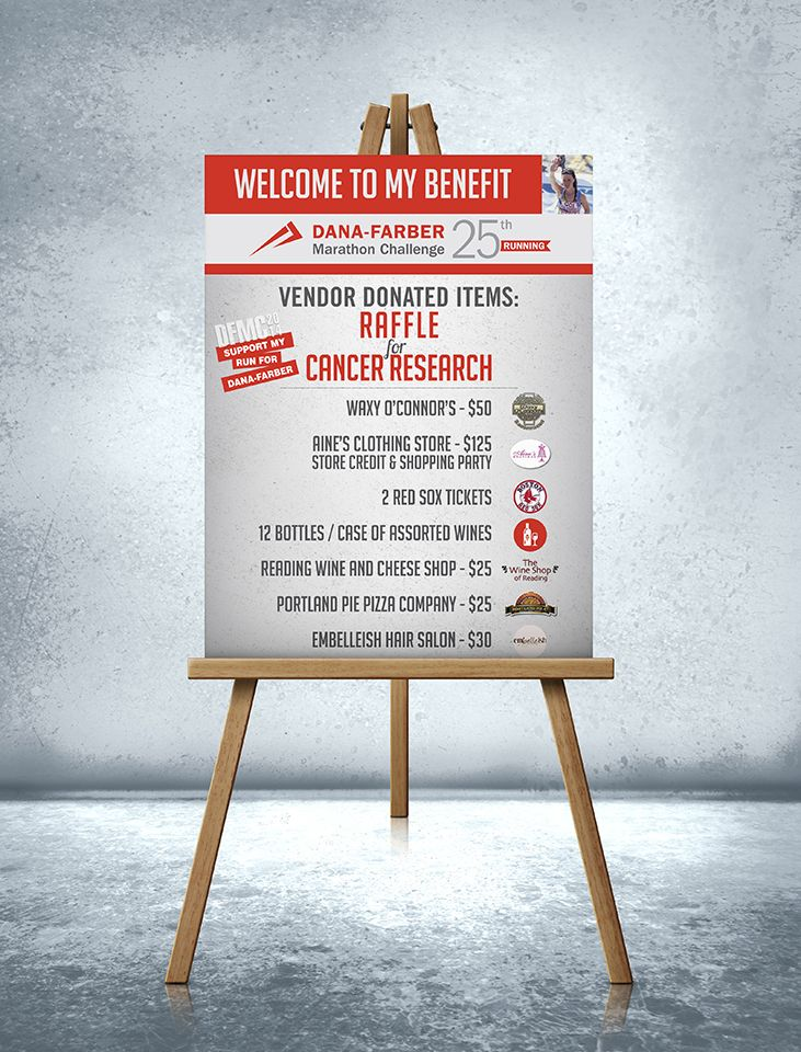 event  promotion  sign  poster  raffle  fundraising