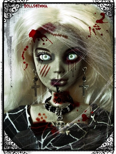 Scary Liv Fashion Doll Zombie   Scary Dolls   Pinterest ...