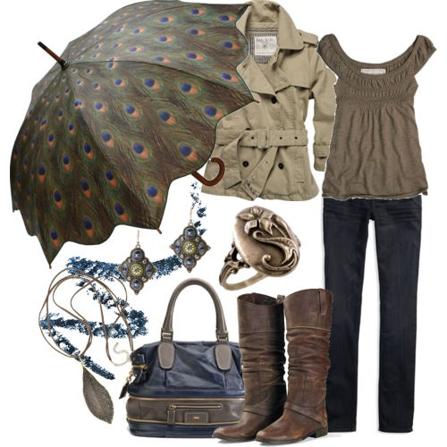 I really want the umbrella ... and the purse ... and the jacket ... and everything else.