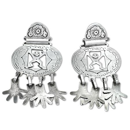 Argentina | Earrings reproduction of ancient Mapuche jewelry