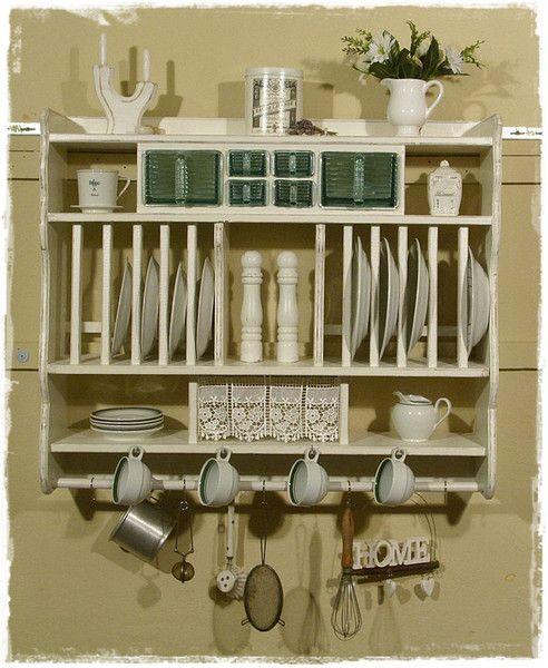 Best 548 Shabby chic, Regal, Möbel, Küche, Kitchen, Cuisine ...