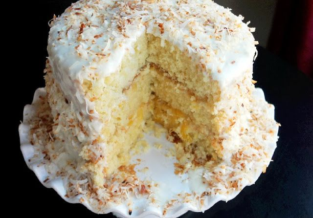 Toasted Coconut Pineapple Cake     It's the day after Christmas and I have CAKE, oh and a Vitamix Giveaway, (entry b...