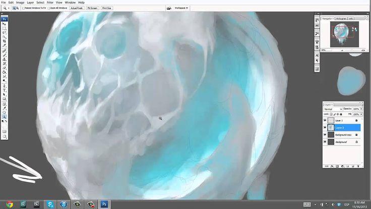 How to paint ICE Tutorial 2 Jesus Conde
