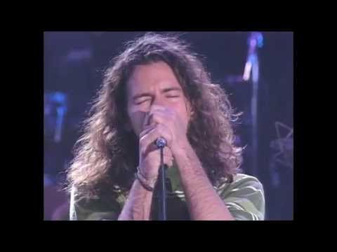 """The Doors with Eddie Vedder perform """"Roadhouse Blues"""" Oh God yes. Vedder does it better!"""