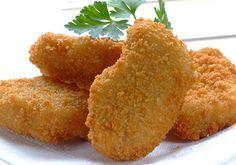 =Nuggets vegetarianos= Ingredientes: ½ coliflor grande 1 brócoli grande 3 huevos ¾ de taza de pan molido ½ taza de queso parmesano rallado 2 cucharaditas de aderezo italiano Sal y pimienta al gusto