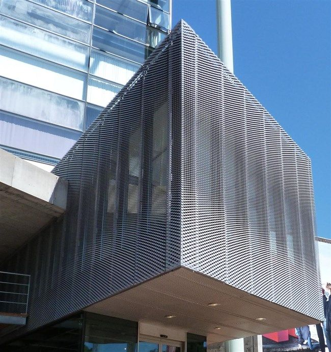MetaDecor - Gevelbekleding met MD Strekmetaal - Nederlands Architectuurinstituut (NAi)