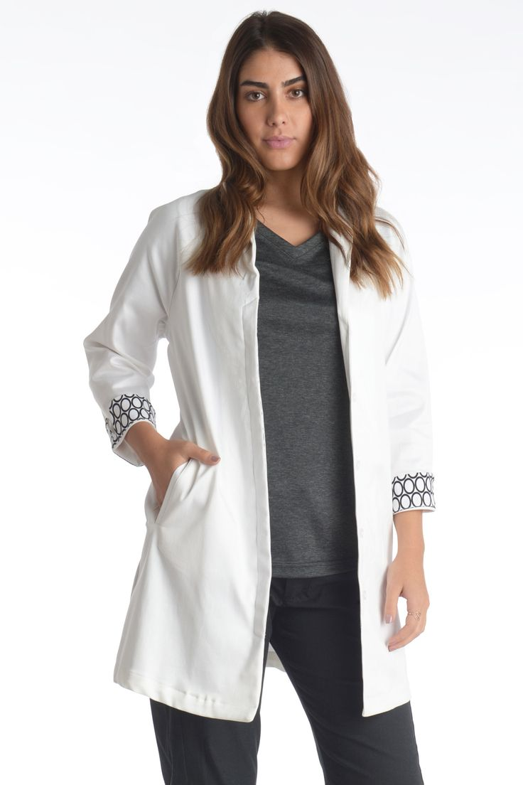 34 best lab coat images on pinterest poncho sweater ponchos and the essential white lab coat jeuxipadfo Gallery