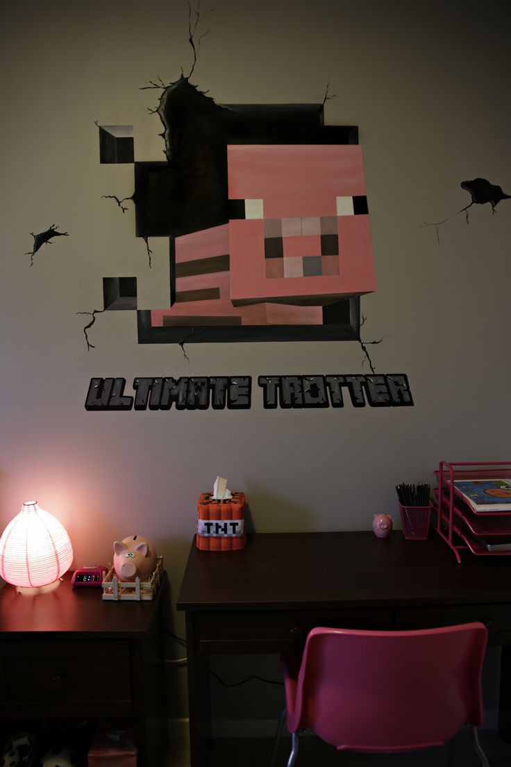 17 Best Images About MINECRAFT Inspired Bedroom On