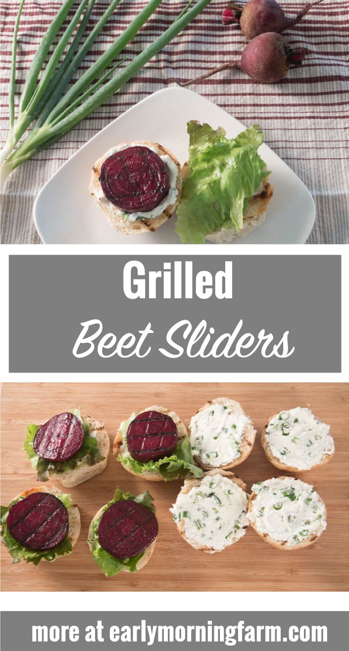 Swap grilled beef for grilled beets!