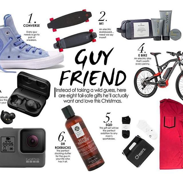 Instead of taking a wild guess, here are eight fail-safe gifts he'll actually want and love this Christmas.