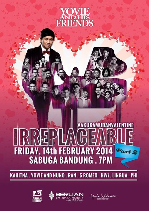 Irreplaceable Concert Part 2 with Yovie Widianto & His Friends