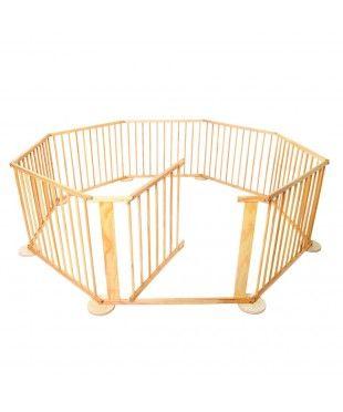 Wooden Playpen - 8 Sides