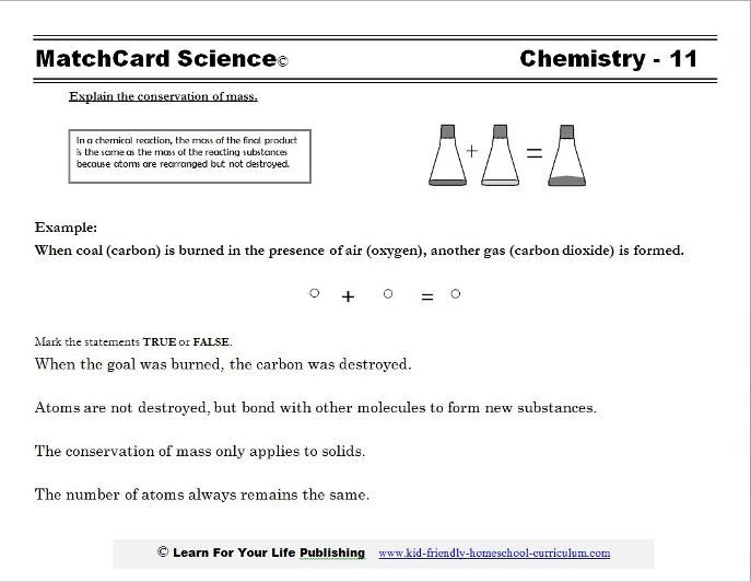 1000+ ideas about Conservation Of Mass on Pinterest   Chemistry ...