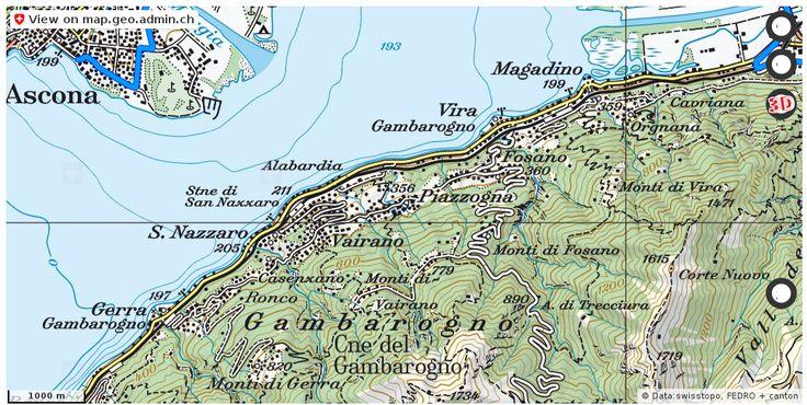 Gambarogno TI Velowege Fahrrad velotour #mobil #routenplaner http://ift.tt/2vqACua #maps #Geomatics