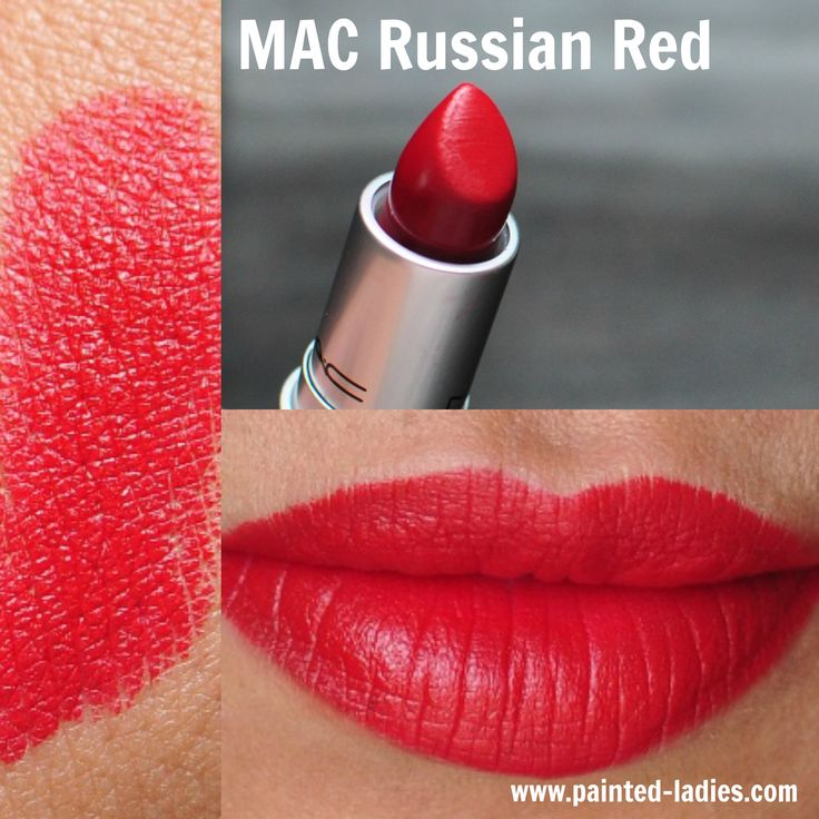 MAC Russian Red Painted Ladies Blog
