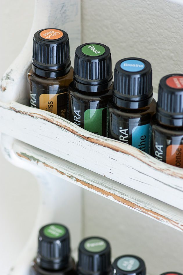Essential oils storage rack kitchens and bathrooms essential oils and spices for Essential kitchens and bathrooms