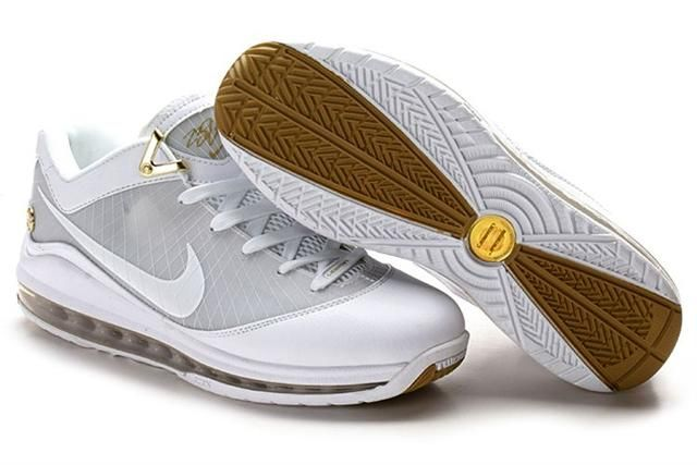 http://www.airfoamposite.com/nike-lebron-7-grey-white-brown-p-318.html NIKE LEBRON 7 GREY WHITE BROWN Only $86.66 , Free Shipping!