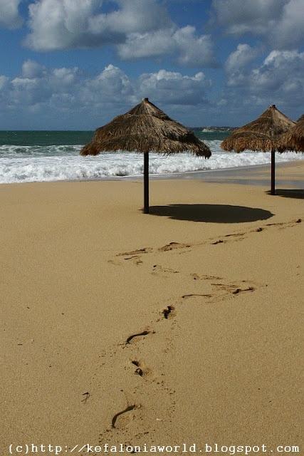 Makris Gialos Beach, Kefalonia , Greece
