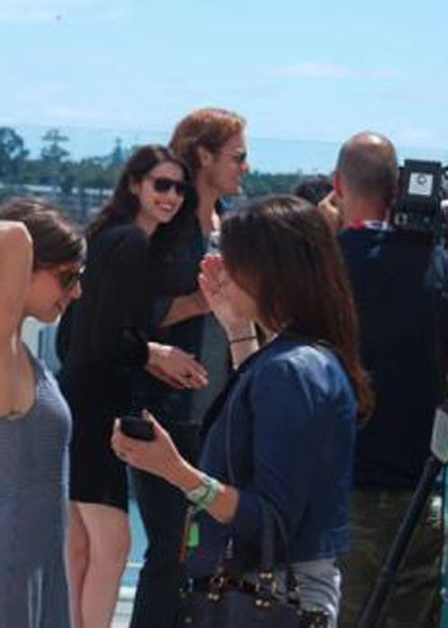 New BTS picture of Sam and Cait from Comic Con [x]