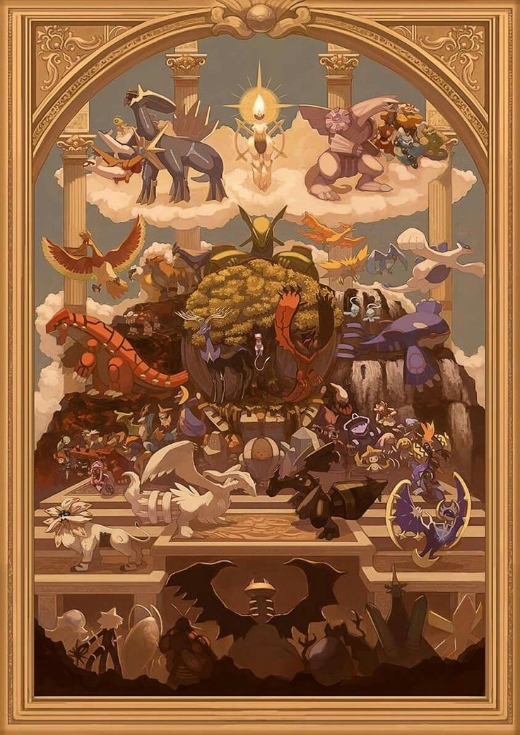 I am interested in finding the artist of this image.  Pokemon of various generations depicted